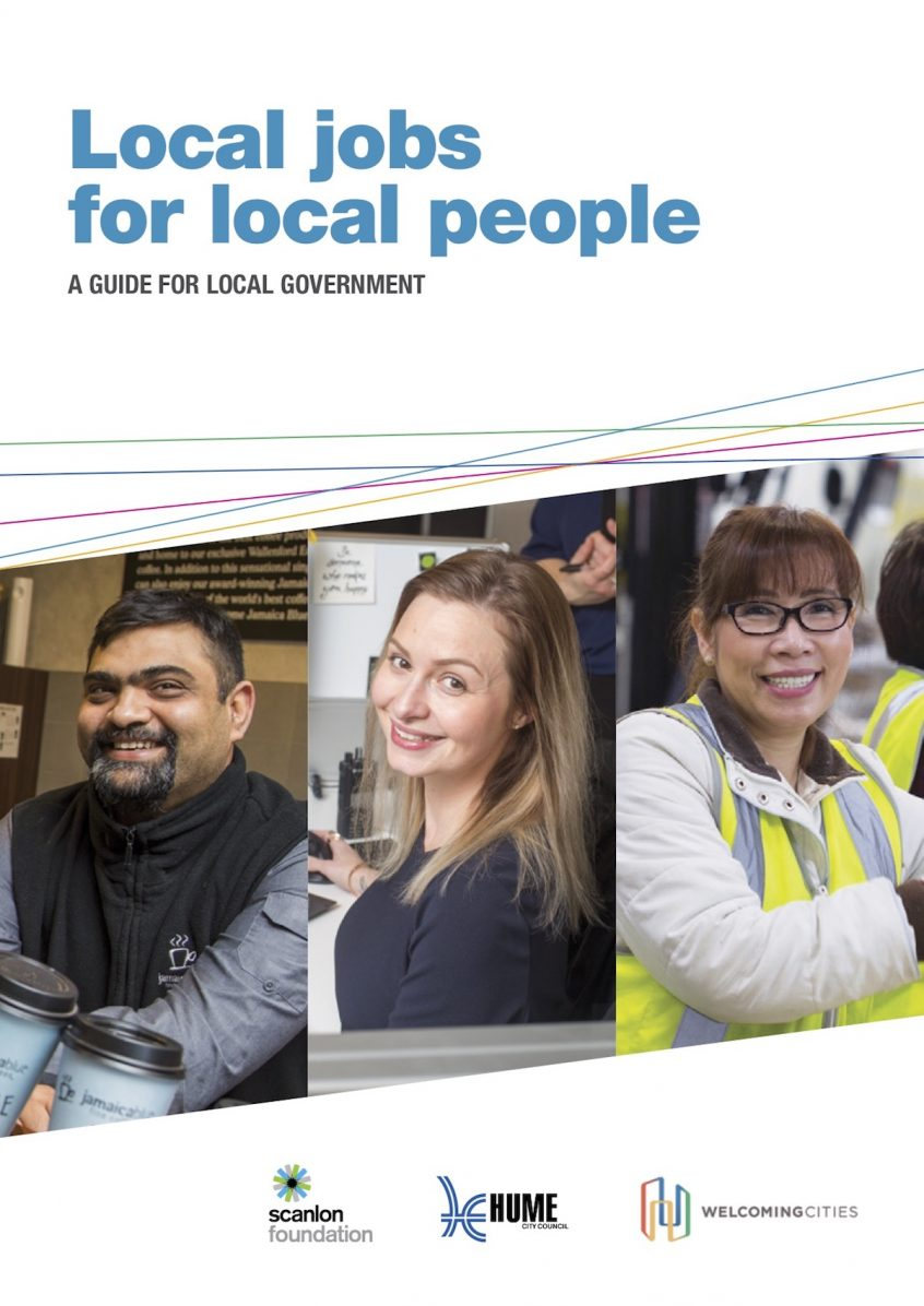 Local jobs for local people – Welcoming Cities